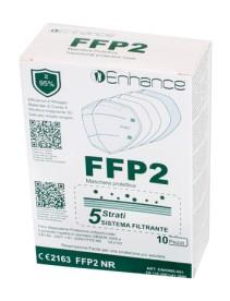 ENHANCE MASCHERA PROTETTIVA FFP2 5 STRATI 10 PEZZI